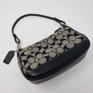 Coach Mini Bag / Clutch - Black / Grey